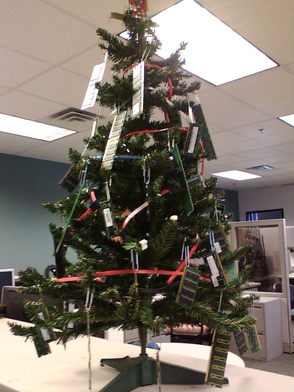 office christmas decorations
